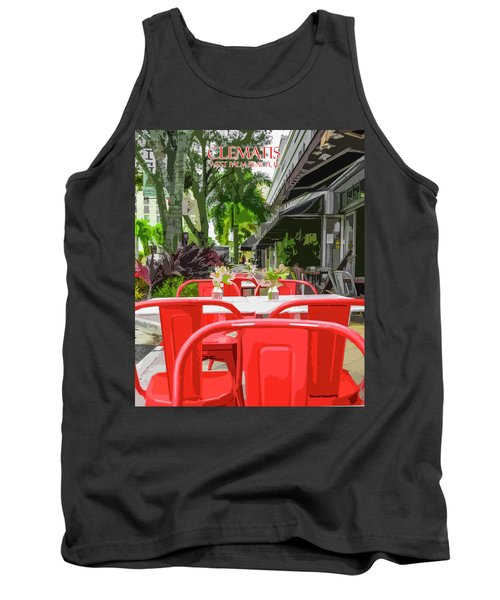 Clematis By Day Tank Top