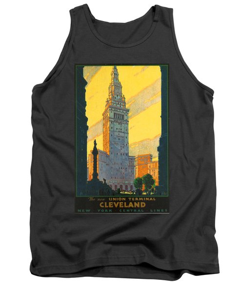 Cleveland - Vintage Travel Tank Top