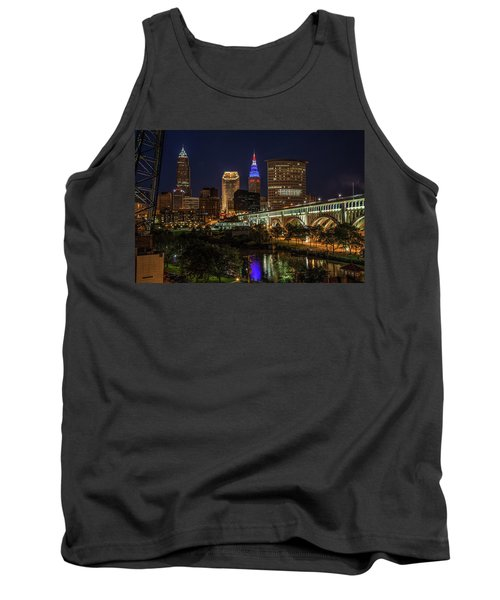 Cleveland Nightscape Tank Top