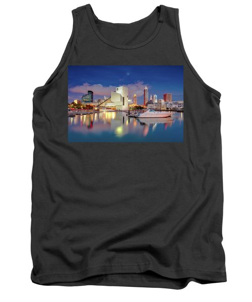 Tank Top featuring the photograph Cleveland Ohio 2  by Emmanuel Panagiotakis
