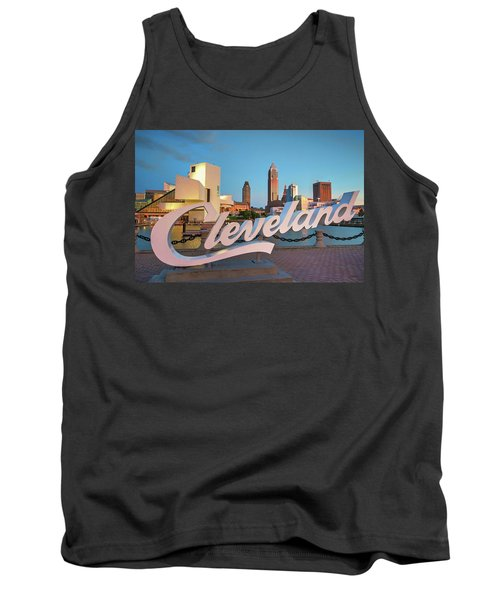 Tank Top featuring the photograph Cleveland's North Coast by Brent Durken