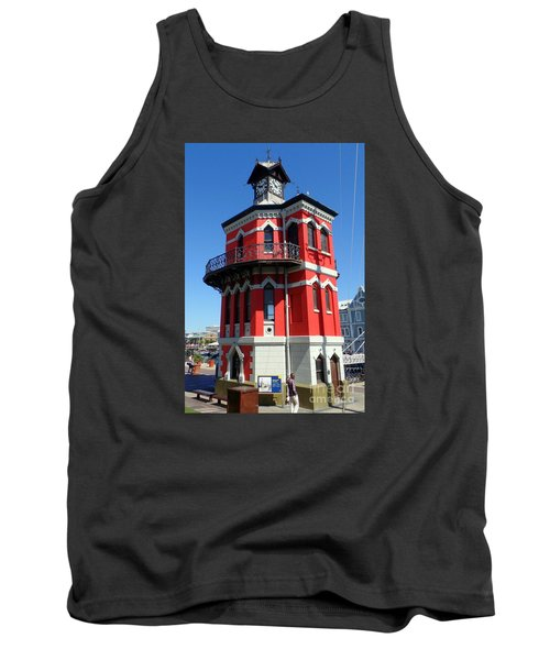 Clock Tower Cape Town Tank Top by John Potts