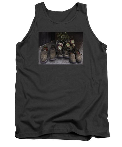 Tank Top featuring the photograph Clodhoppers by Kandy Hurley