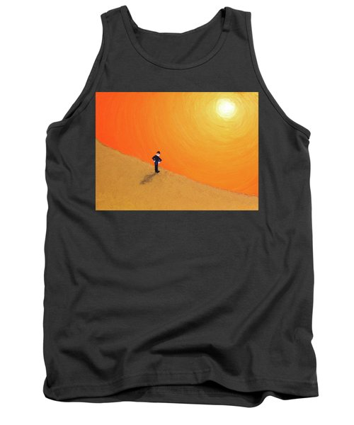 Close To The Edge Tank Top by Thomas Blood