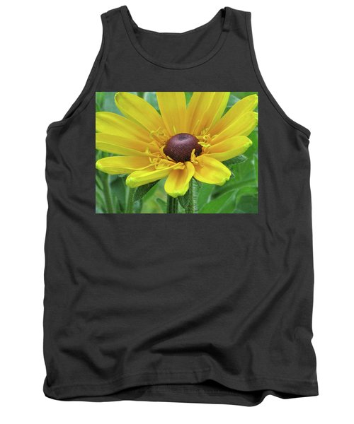 Close Up Summer Daisy Tank Top by Michele Wilson