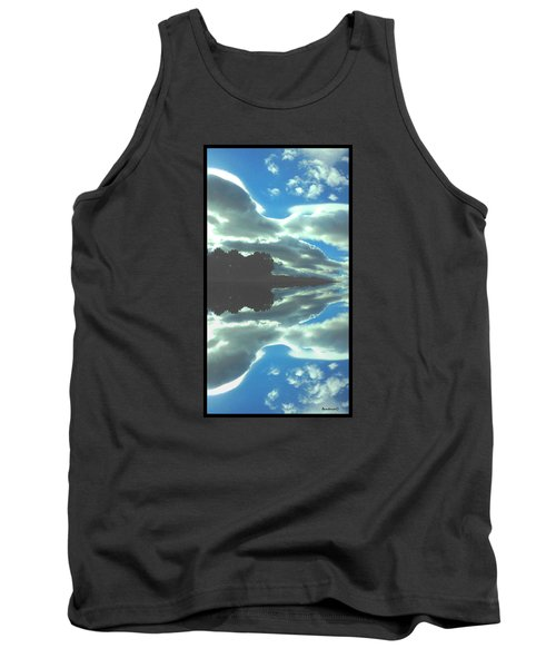 Cloud Drama Reflections Tank Top by Anastasia Savage Ealy