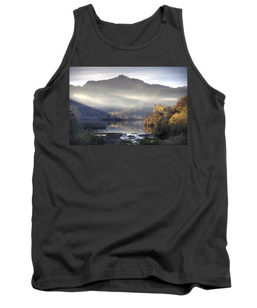 Mist In The Evening Tank Top by Gouzel -