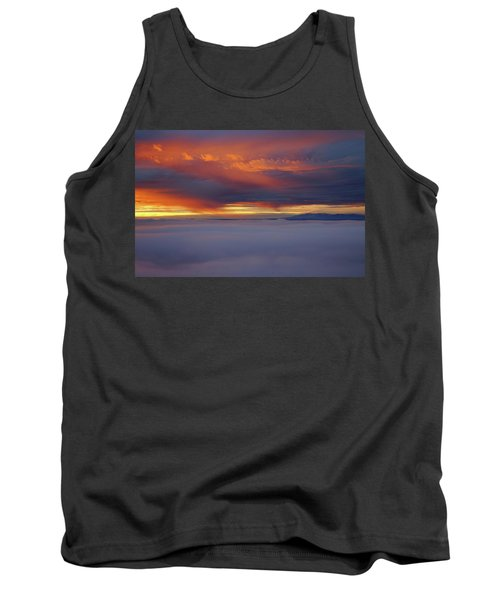 Cloud Layer Sunrise At Dead Horse Point State Park Tank Top