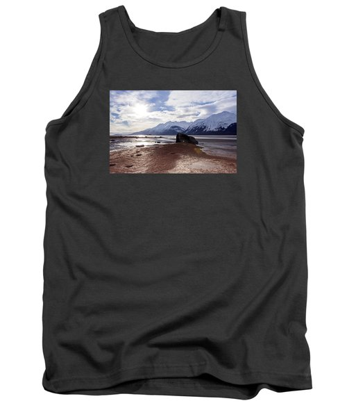 Cloud Shadows At Low Tide. Tank Top by Michele Cornelius