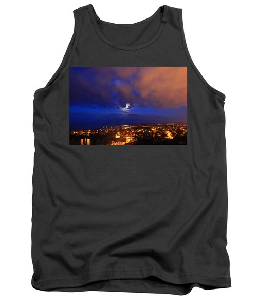 Clouded Eclipse Tank Top