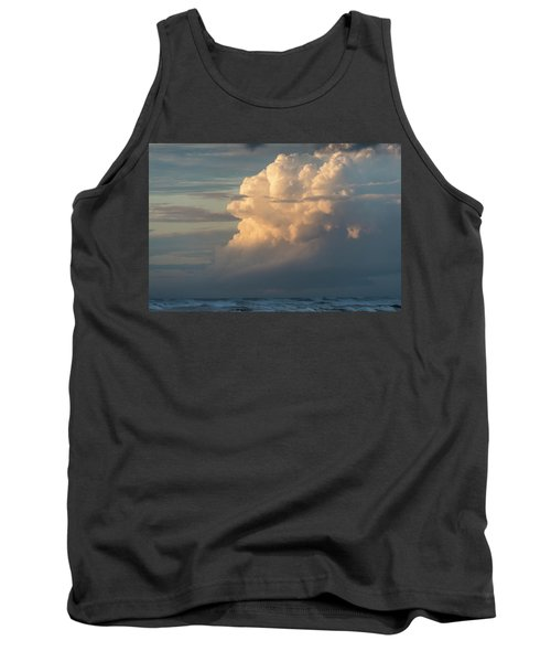 Clouds And Surf Tank Top