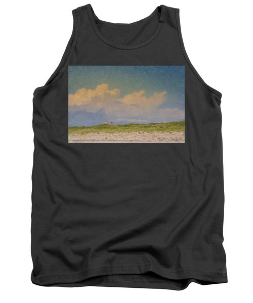 Clouds Over Goosewing Tank Top