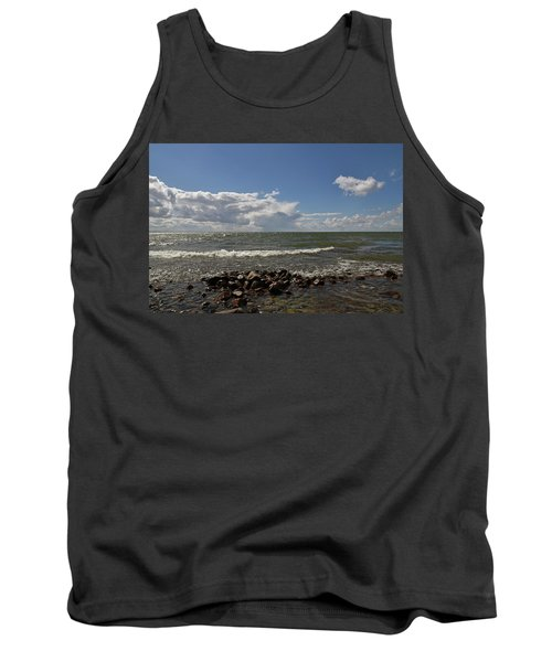 Clouds Over Sea Tank Top