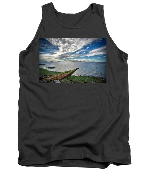 Clouds Over The Bay Tank Top