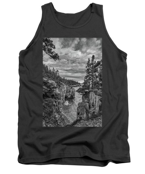 Clouds Over The Cliffs Tank Top
