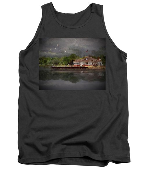 Clouds Over The Harbor Tank Top