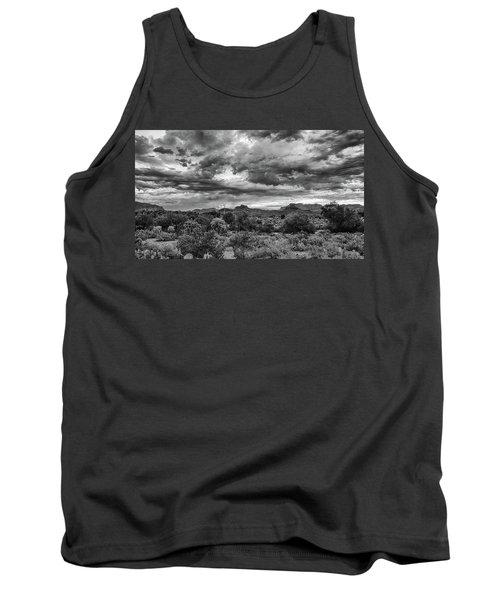 Clouds Over The Superstitions Tank Top by Monte Stevens