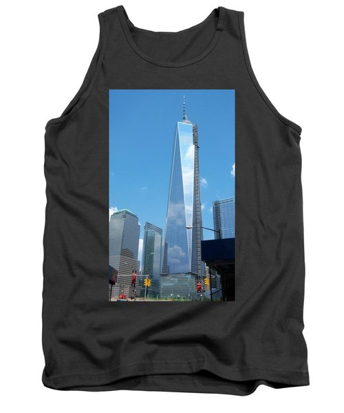 Clouds Reflection Tank Top