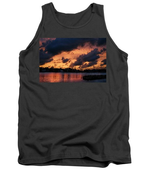 Tank Top featuring the photograph Cloudscape by Laura Fasulo
