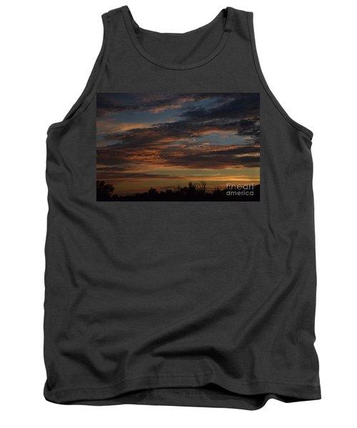 Cloudy Kansas Evening Tank Top
