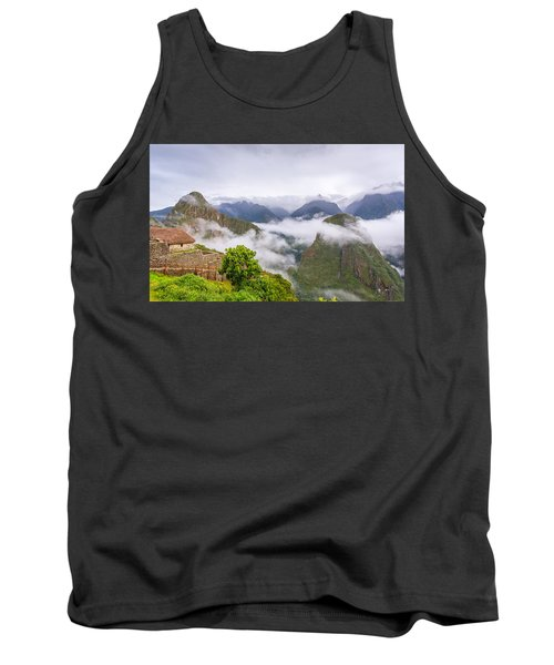 Cloudy Mountains. Tank Top