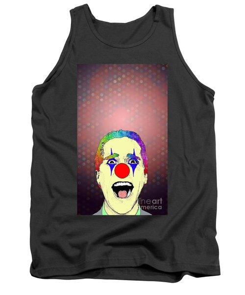 clown Christian Bale Tank Top by Jason Tricktop Matthews