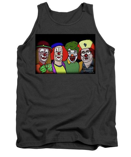 Clowns Tank Top by Megan Dirsa-DuBois