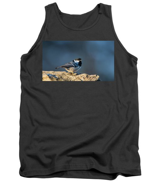 Tank Top featuring the photograph Coal Tit's Colors by Torbjorn Swenelius
