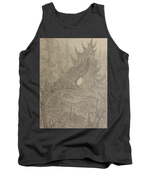 Coastal Castle Tank Top by Corbin Cox