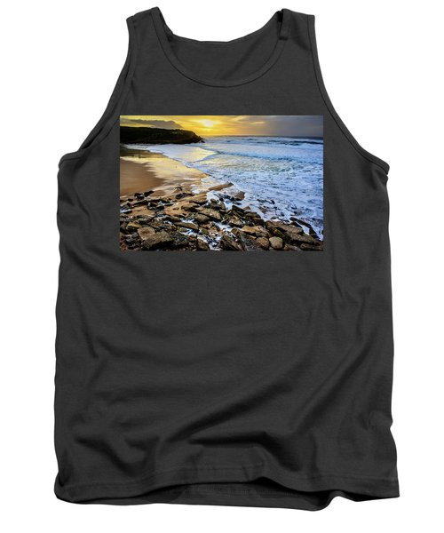 Tank Top featuring the photograph Coastal Sunset by Marion McCristall
