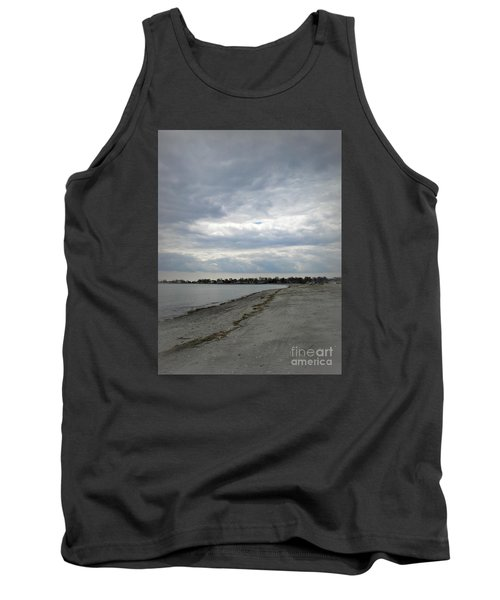 Tank Top featuring the photograph Coastal Winter by Kristine Nora