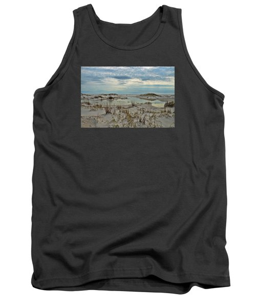 Tank Top featuring the photograph Coastland Wetland by Renee Hardison