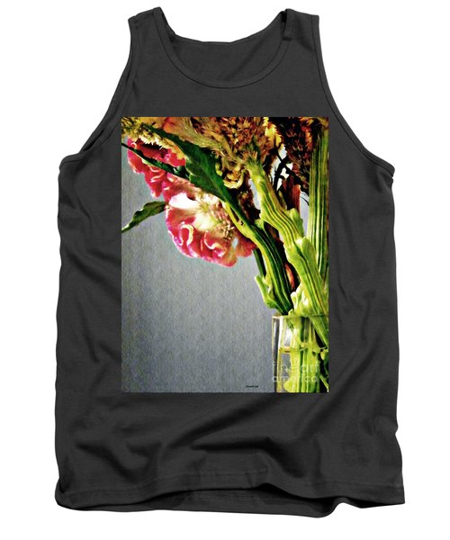 Tank Top featuring the photograph Cockscomb Bouquet 5 by Sarah Loft