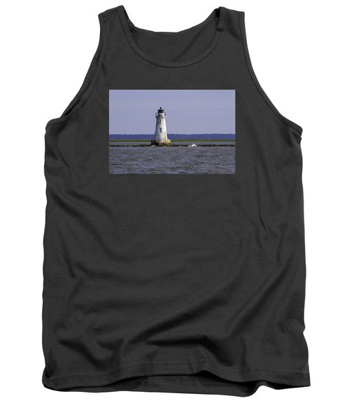 Cockspur Lighthouse Tank Top