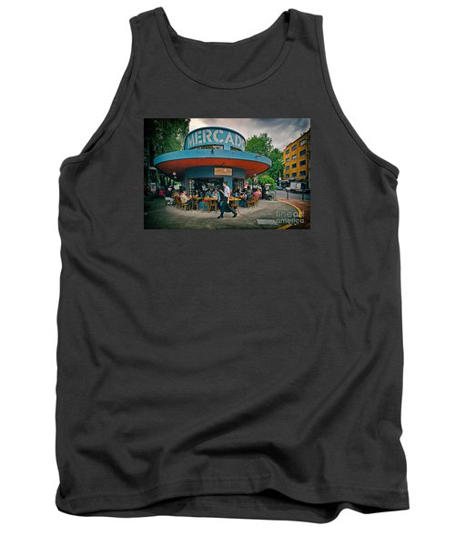 Coffee Caffeine High At 7,000 Feet Tank Top by Sam Antonio Photography