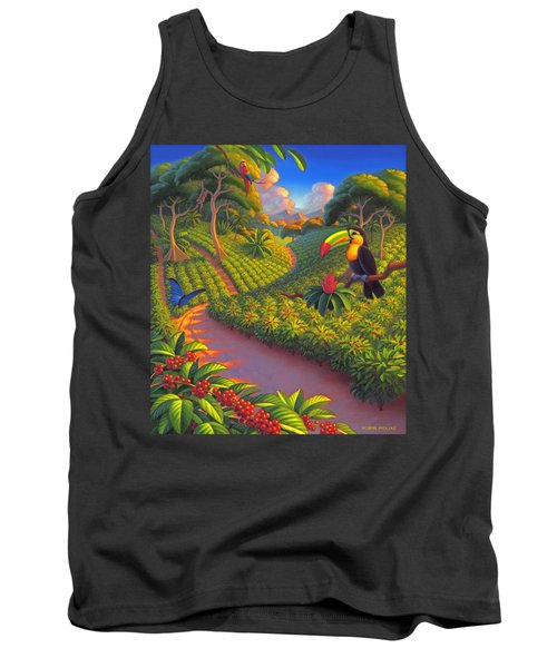 Coffee Plantation Tank Top