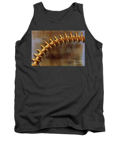 Tank Top featuring the photograph Coiled By Kaye Menner by Kaye Menner