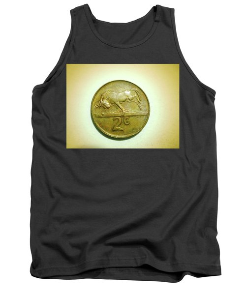Tank Top featuring the photograph Coin Series -  by Beto Machado