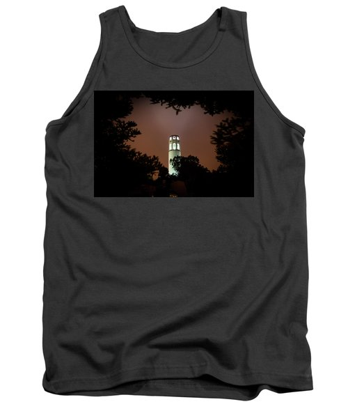 Coit Tower Through The Trees Tank Top