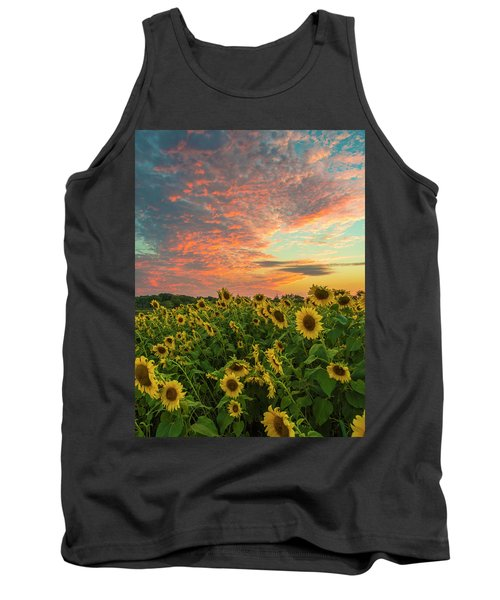 Colby Farm Sunflowers Tank Top