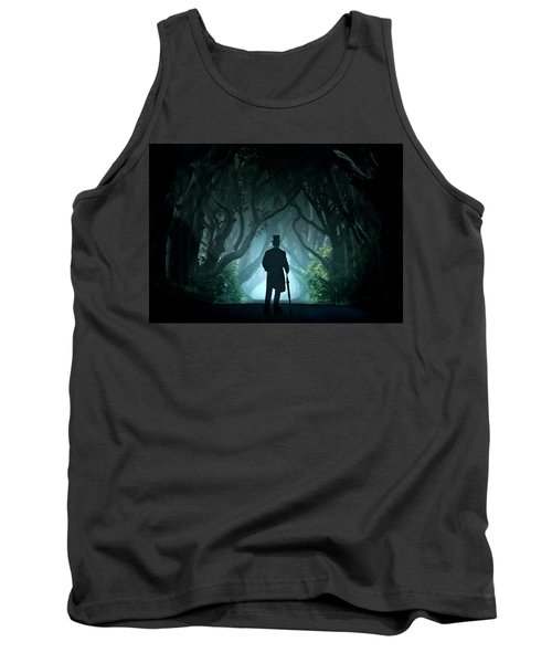 Cold Morning In Dark Hedges Tank Top