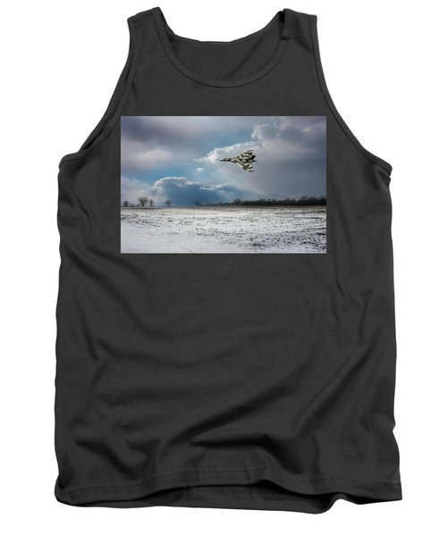 Tank Top featuring the photograph Cold War Warrior by Gary Eason