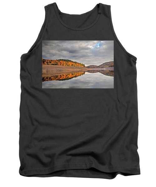 Colebrook Reservoir - In Drought Tank Top by Tom Cameron