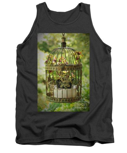 Coleus In Vintage Birdcage Tank Top