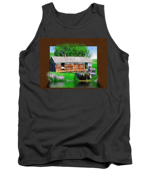 Tank Top featuring the photograph Collage by Susan Kinney