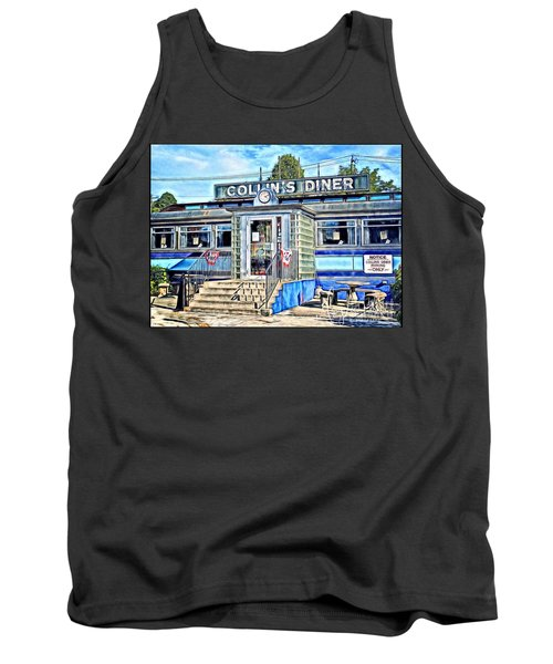 Collin's Diner New Canaan,conn Tank Top