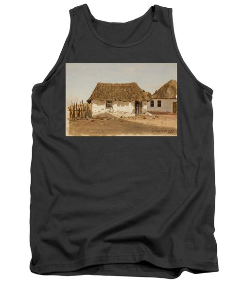 Colombia Barranquilla Two Houses  Tank Top