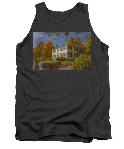 Colonial House On Main Street, Easton Tank Top
