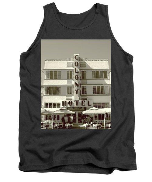 Colony Hotel South Beach Tank Top