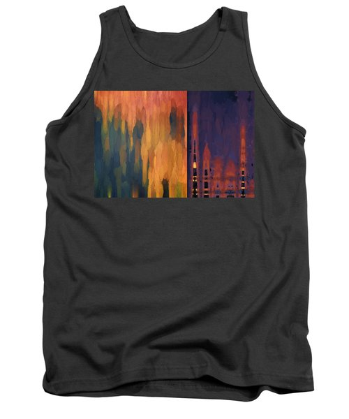 Color Abstraction Liv Tank Top